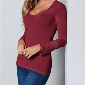 Red Venus Sweater